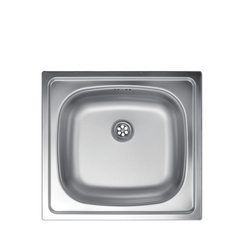 Metalac inox usadni sudoper Quadro ø60
