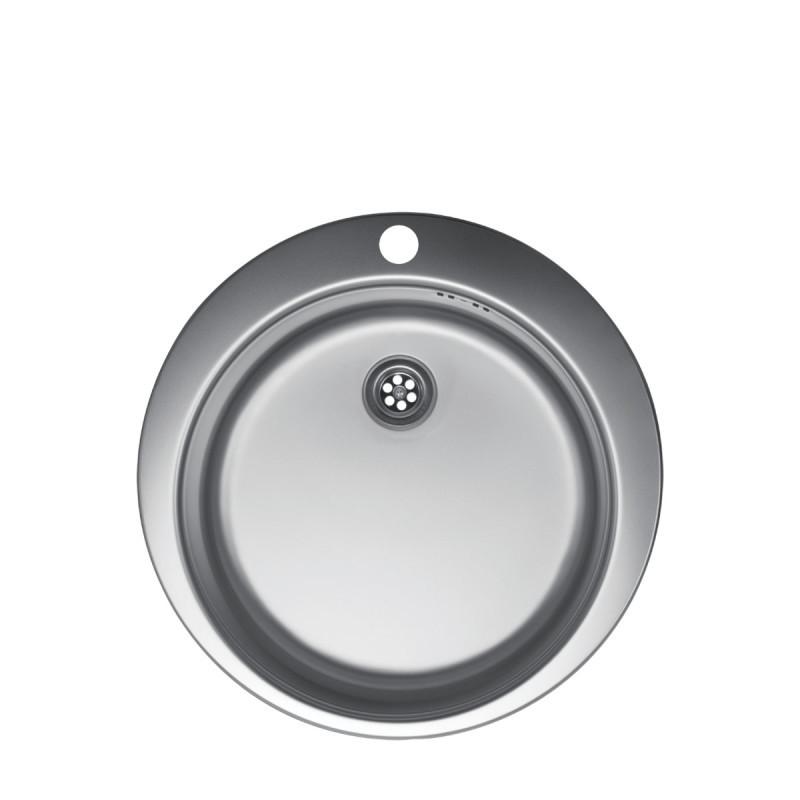 Metalac inox usadni sudoper Venera E480 B sifon ø60