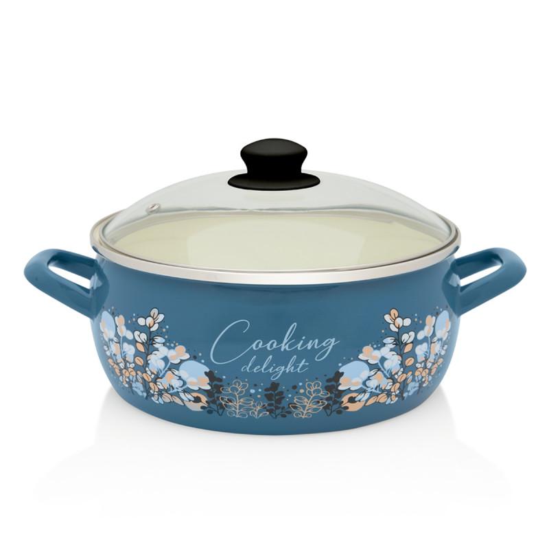 Metalac plitka posuda BLUE COOKING DELIGHT 24cm/5,3lit