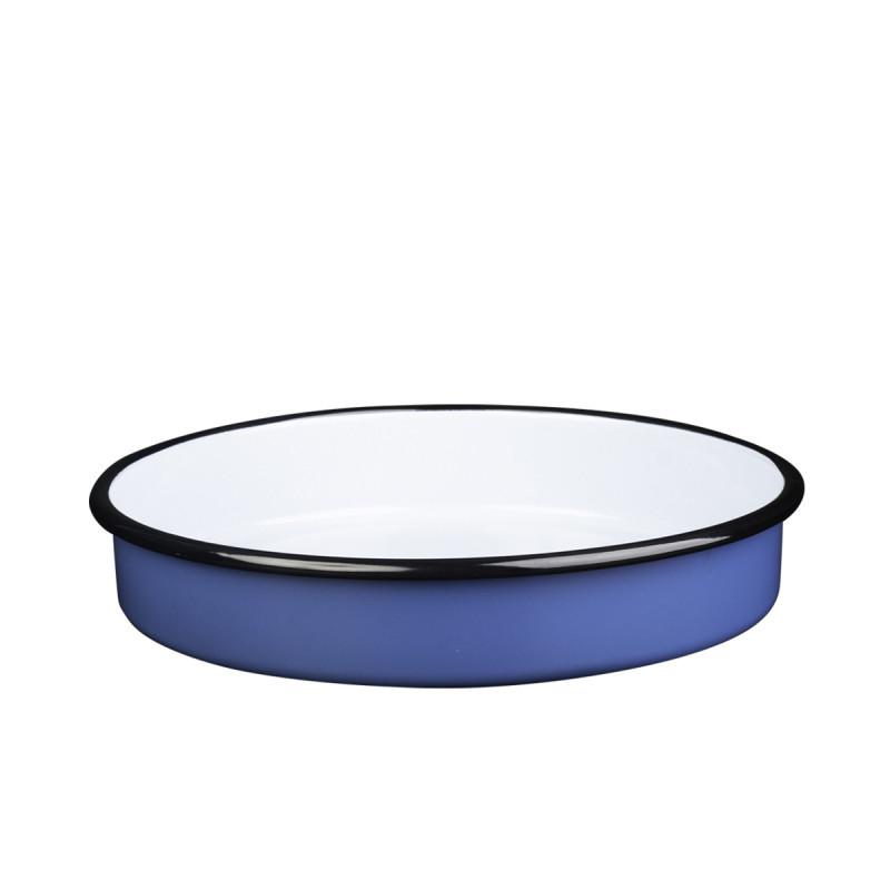 Metalac okrugli pekač PLAVI 30cm