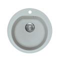 Metalac granitni usadni sudoper xVenera siva E510 ø90